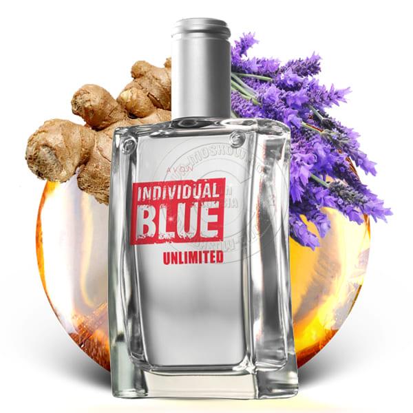 Individual blue купить лосьон спрей для тела avon