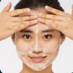 шаг 3 - смывание маски Пена морская